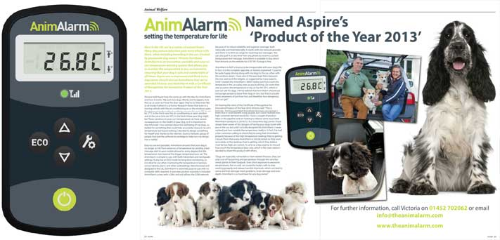 Aspire Innovative Product Design Award 2013